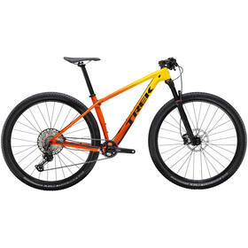 Trek Procaliber 9.6 yellow to orange fade
